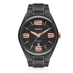 Relógio Masculino Orient Analógico MPSS1003 P2PX Aço Negro