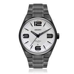 Relógio Masculino Orient Analógico MPSS1002 S2PX Aço Negro