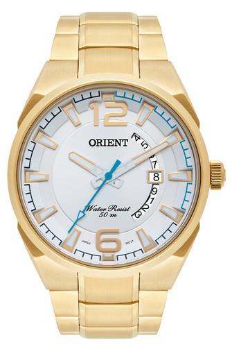 Relógio Masculino Orient Analógico MGSS1159 S2KX Dourado
