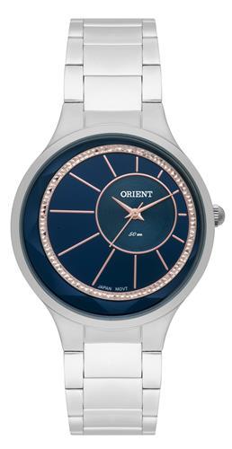 Relógio Feminino Orient Analógico FBSS0073 D1SX Fundo Azul