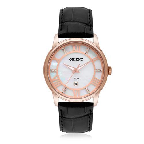 Relógio Feminino Orient Analógico FRSC1006 B3PX Couro