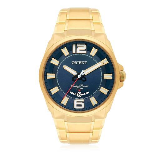 Relógio Masculino Orient Analógico MGSS1157 D2KX Dourado