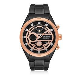 Relógio Masculino Orient Analógico MPSSC012 P1PX Aço Negro