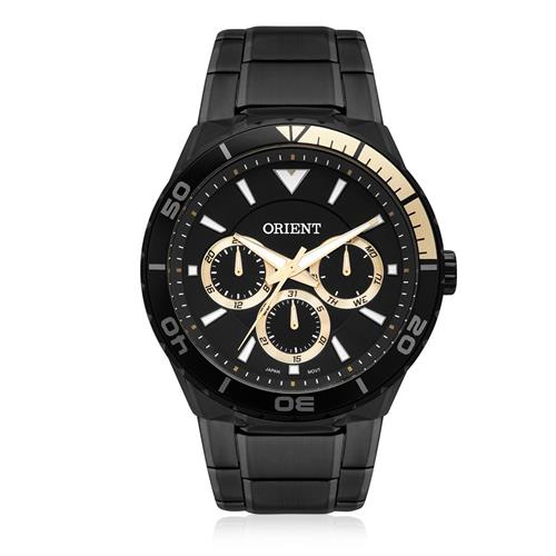 Relógio Masculino Orient Analógico MPSSM002 P1PX Aço Negro