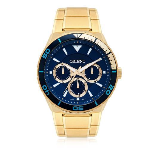 Relógio Masculino Orient Analógico MGSSM028 D1KX Dourado