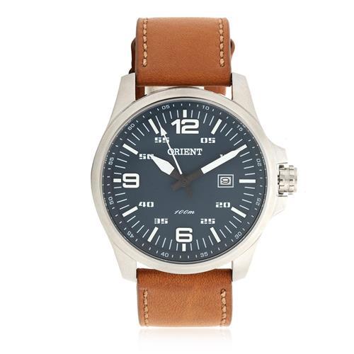 Relógio Masculino Orient Analógico MBSC1023 D2MX Couro