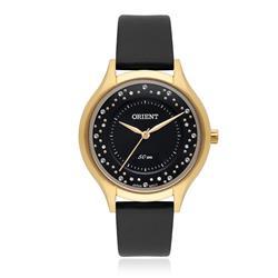 Relógio Feminino Orient Analógico Swarovski FGSC0014 P1PX Couro