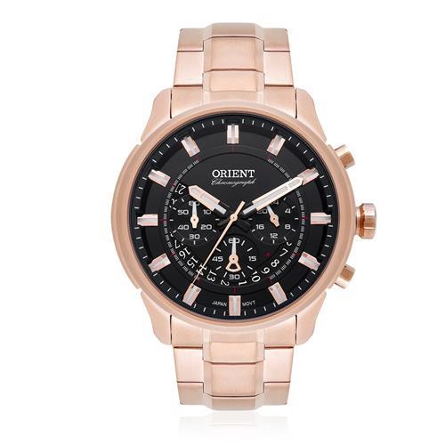 823388bb486 Relógio Masculino Orient Analógico MRSSC001 P1RX Rose