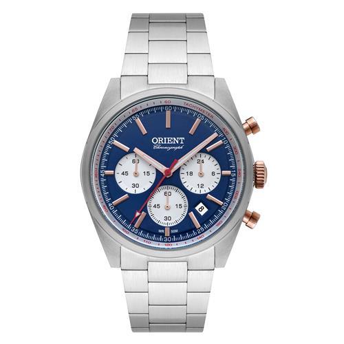 Relógio Masculino Orient Analógico MTSSC016 D1SX Aço