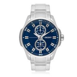Relógio Masculino Orient Analógico MBSSM078 D1SX Fundo Azul