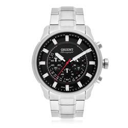 Relógio Masculino Orient Analógico MBSSC189 P1SX Fundo Preto