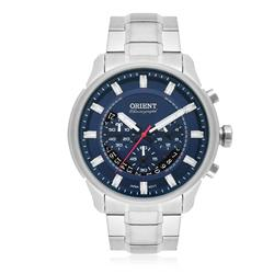 Relógio Masculino Orient Analógico MBSSC189 D1SX Fundo Azul