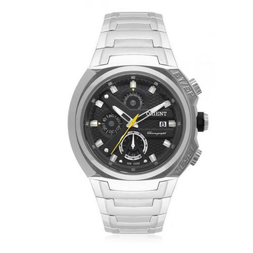 Relógio Masculino Orient Analógico MBSSC183 P1SX Aço