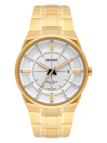 Relógio Masculino Orient Analógico MGSS1153 S1KX Dourado