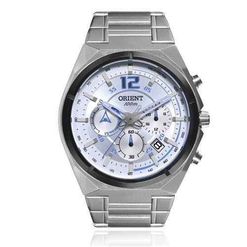 Relógio Masculino Orient Chronograph MBSSC132 SASX Aço