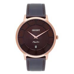 Relógio Masculino Orient Analógico MRSCS002 N1NX Couro Marrom