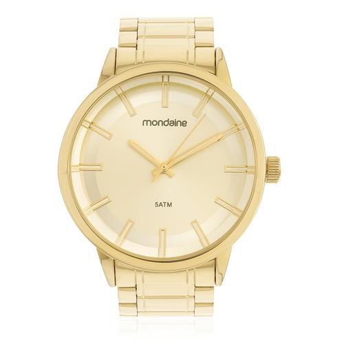 Relógio Feminino Mondaine Analógico 83322LPMVDE1 Dourado