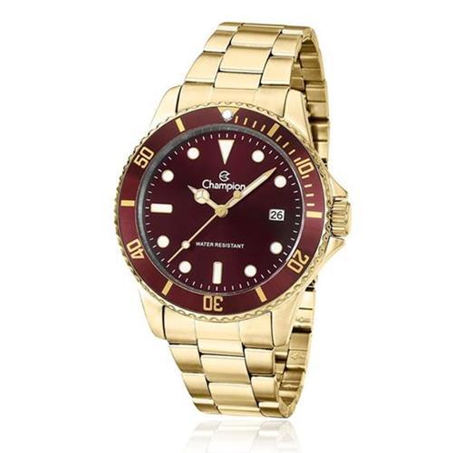 Relógio Masculino Champion Analógico CA31266R Dourado