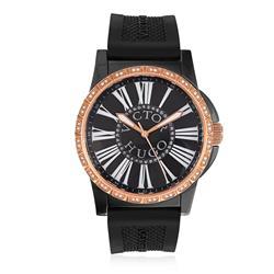 Relógio Victor Hugo Analógico VH10091LSBT/30 Borracha