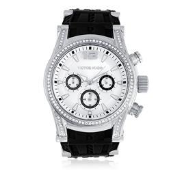 Relógio Victor Hugo Analógico VH10062LSS/04 Borracha