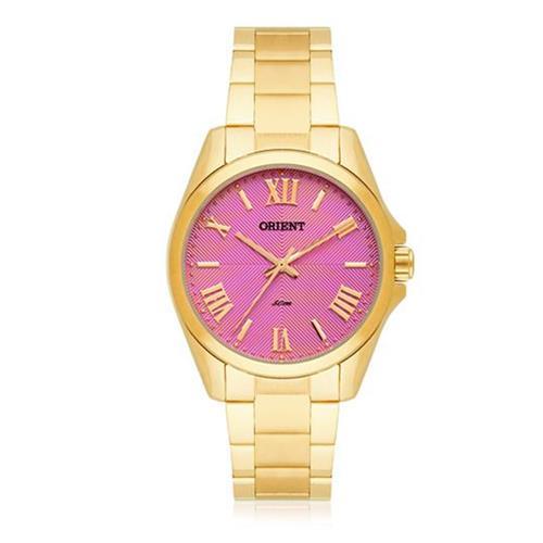 38873dc0a0b Relógio Feminino Orient Analógico FGSS0079 R3KX Fundo Rosa