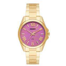 Relógio Feminino Orient Analógico FGSS0079 R3KX Fundo Rosa