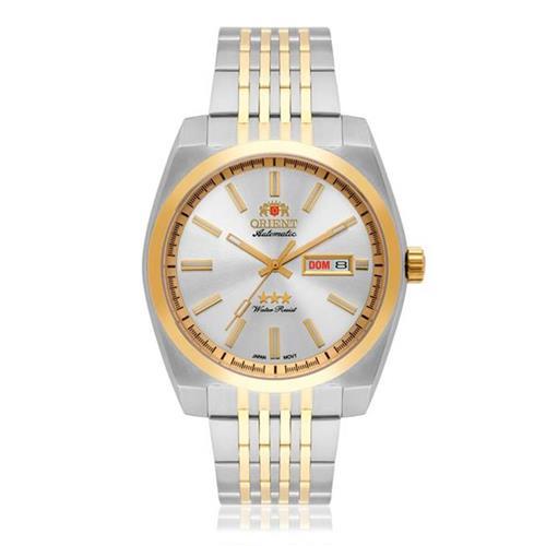 e25557decaf Relógio Masculino Orient Automatic 469TT070 S1SK Aço Misto