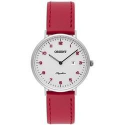 eb5e7c96b9a Relógio Feminino Orient Sapphire FBSCS0003 S2VX Couro Vermelho