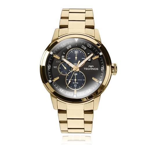 Relógio Masculino Technos Analógico 6P57AA/4P Dourado