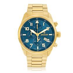 Relógio Masculino Jaguar Analógico J03CBGG01 D2KX Fundo Azul