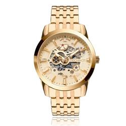 Relógio Masculino Technos Executive Analógico 2115KNI 4K Dourado c0149837cc