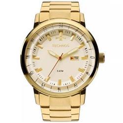 5dd07f72fb2 Relógio Masculino Technos Analógico 2115LAP 4X Dourado