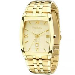 65fd948fe0a Relógio Masculino Technos Analógico 1N12MP 4X Dourado