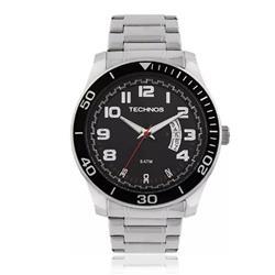 Relógio Masculino Technos Analógico 2115KSL/1R Fundo Preto