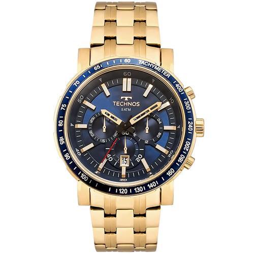 Relógio Masculino Technos Analógico JS26AJ 4A Dourado e2b3d234b9