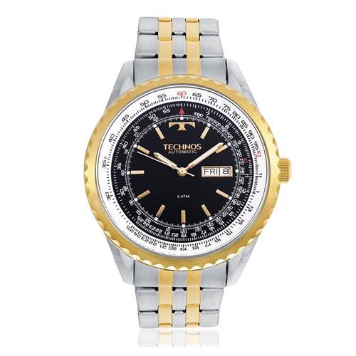 Relógio Masculino Technos Automatic 8205NO/5A Aço Misto