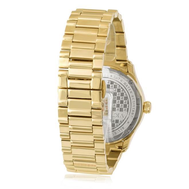 0e5ae0b4321 Relógio Victor Hugo VH11096LSG 06M Diamonds Gold. Ampliar