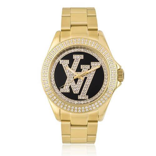 5d4f4efc906 Relógio Victor Hugo Analógico VH10134LSG 02M Dourado