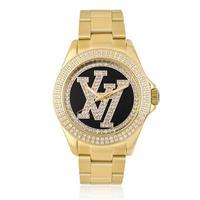 cf8c38732e4 Relógio Victor Hugo Analógico VH10134LSG 02M Dourado
