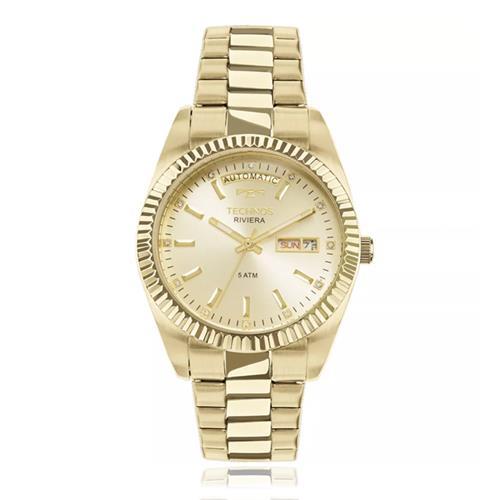 Relógio Feminino Technos Riviera Automatic 8205OA/4X Dourado