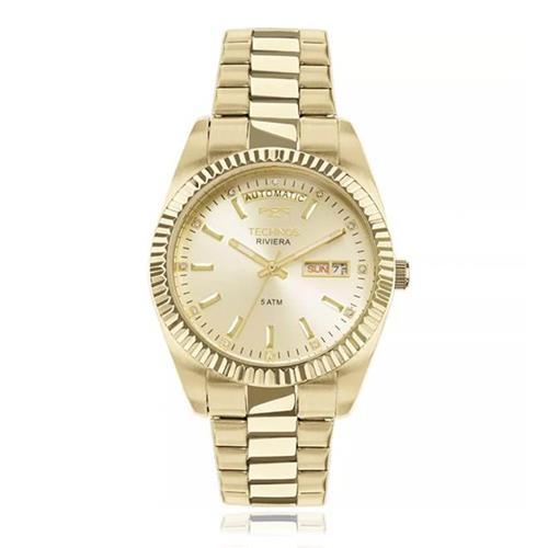 Relógio Technos Riviera Automatic 8205OA/4X Dourado