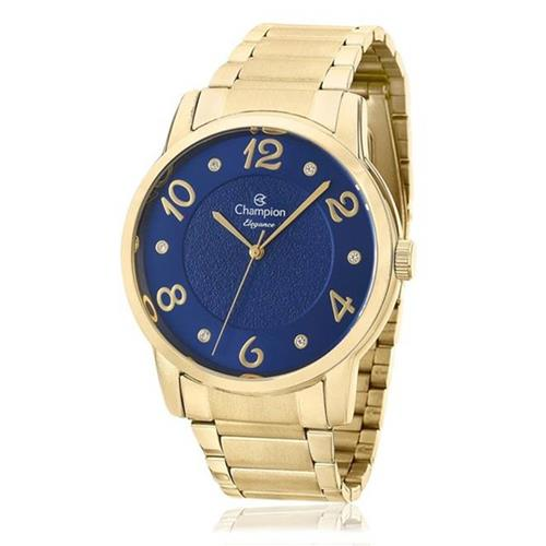Relógio Feminino Champion Elegance CN26117A Dourado