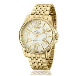 Relógio Feminino Champion Elegance CN27358H Dourado