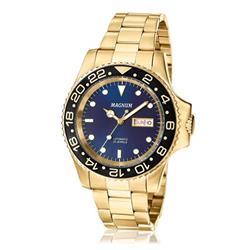 Relógio Masculino Magnum Automatic 21 Jewels MA33844A Dourado