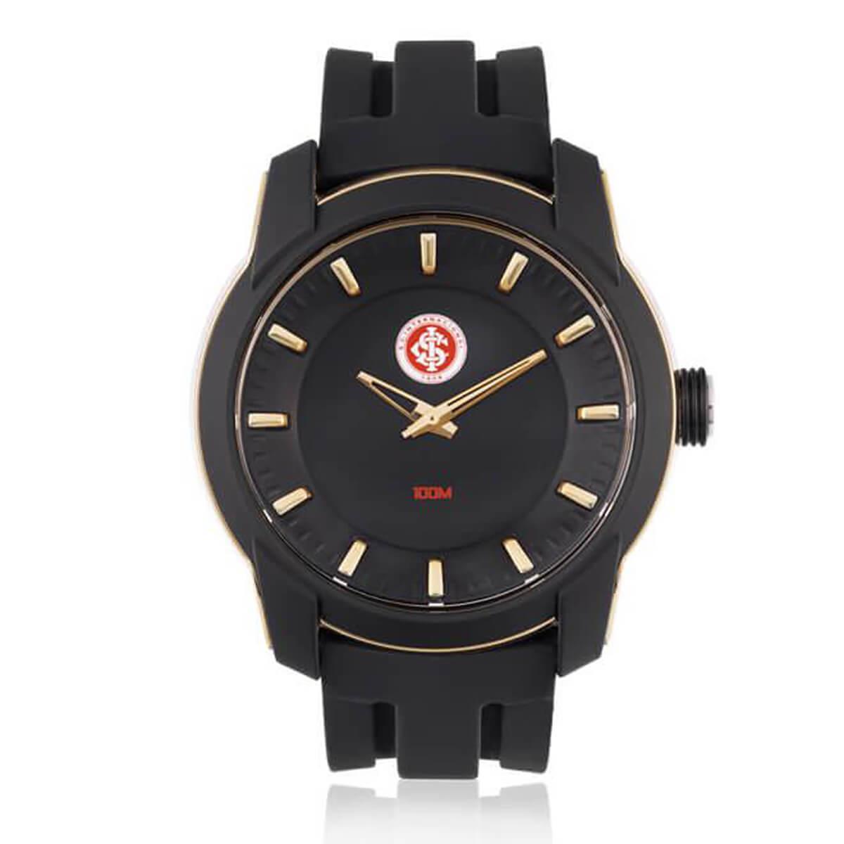 b6b4389fac7 Relógio Masculino Technos Internacional INT2035AB 8P Borracha