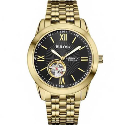 530c6e7087f Relógio Masculino Bulova WB32004U Dourado