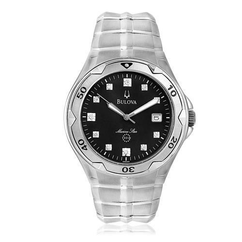 ff6a59939c8 Relógio Bulova Marine Star Diamond