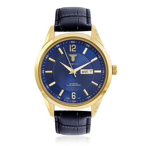 8a70d7a9834 Relógio Masculino Tempus Elite ZW20136A Gold Blue