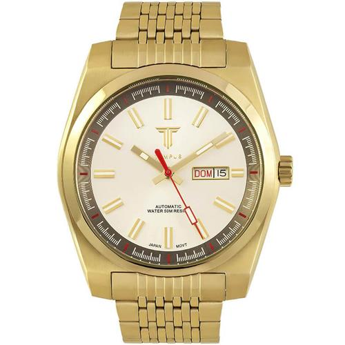 b34db4eca61 Relógio Masculino Tempus Yacht ZW30312H Gold White