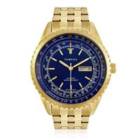 85adbd920e5 Relógio Masculino Tempus Magnific ZW30321A Gold Blue